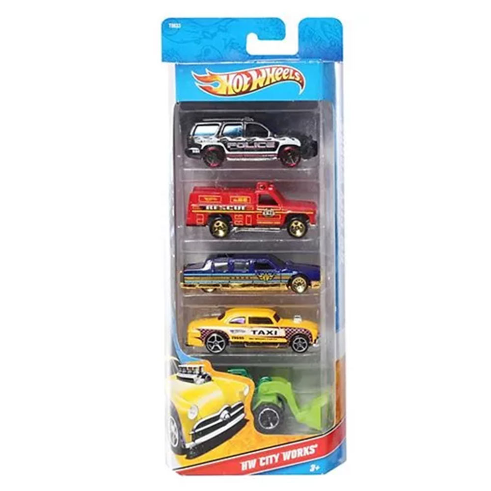 Hotwheels 5 Car Pack