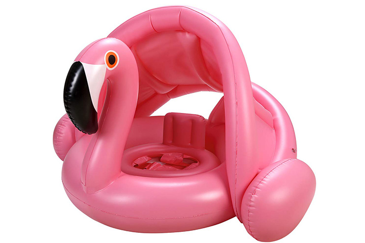 Iefoah Baby Pool Float with Canopy