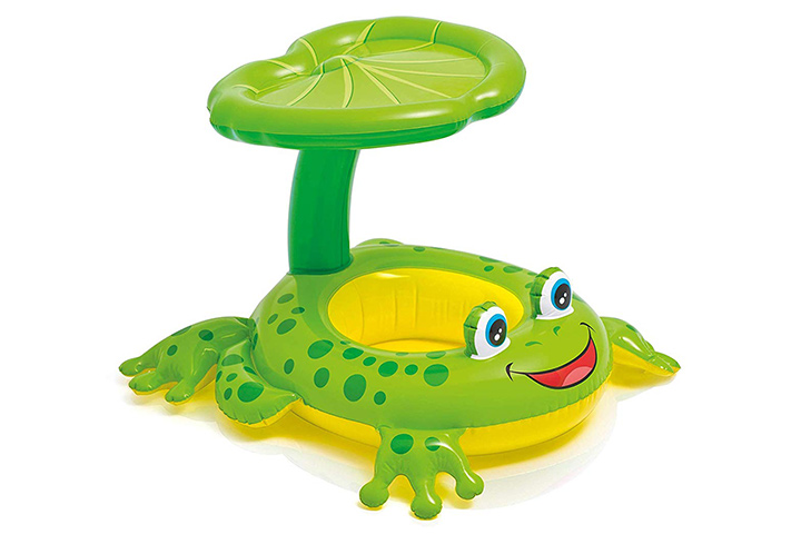 Intex Recreation Froggy Friend Shaded Baby Float Toy