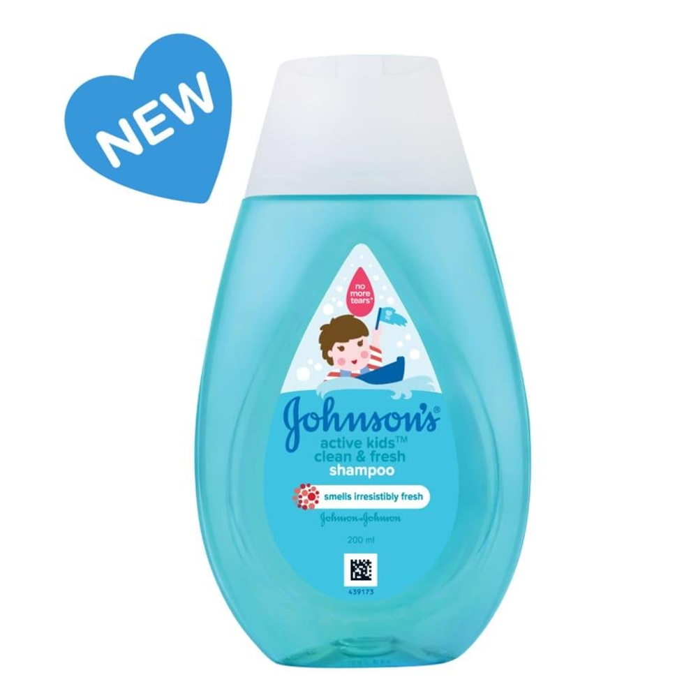 Johnson's Active Kids Shampoo Clean and Fresh