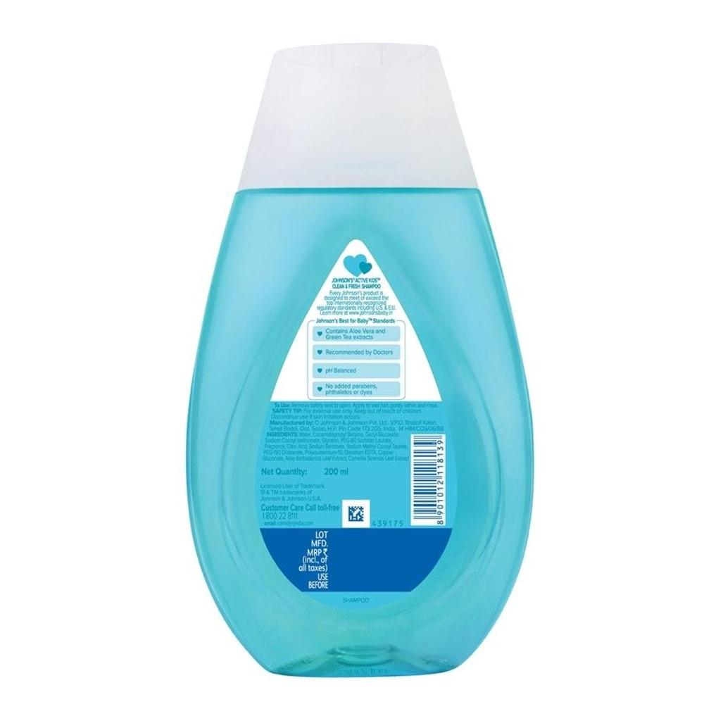 Johnson's Active Kids Shampoo Clean and Fresh