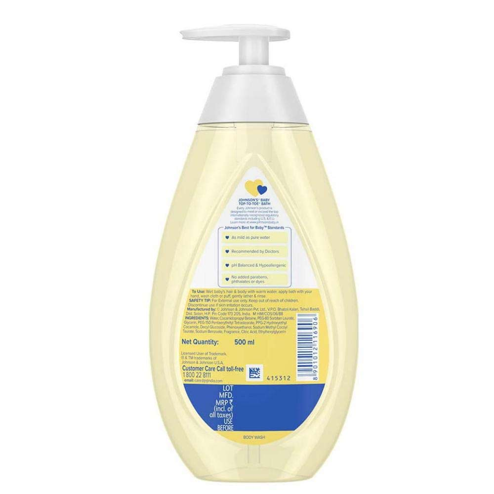 Johnson's Top-to-Toe Baby Wash