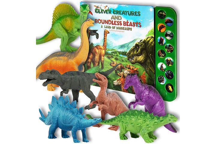 Lil Gen Realistic Looking Dinosaur Toys