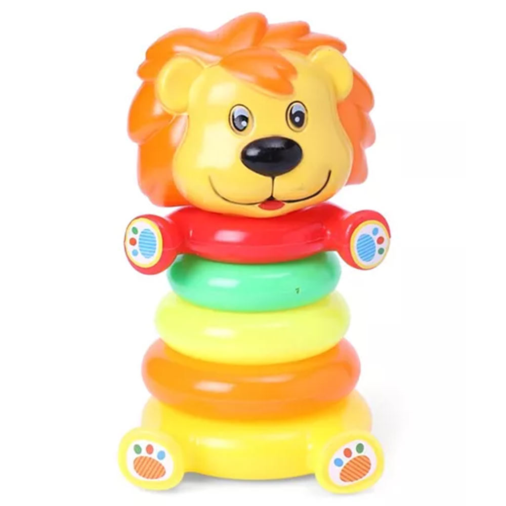 Fab-N-Funky Lion Ring Stacking Toy