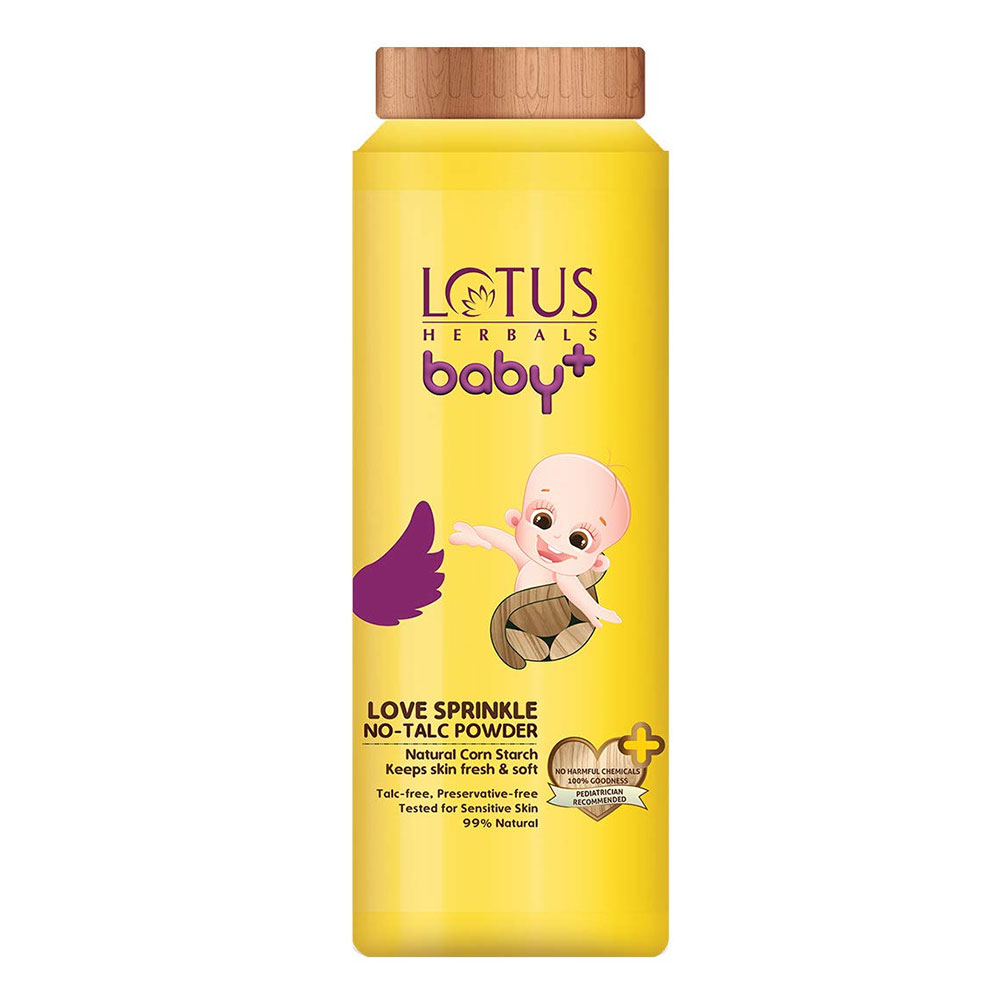 Lotus Herbals Baby+ Love Sprinkle No-Talc Powder