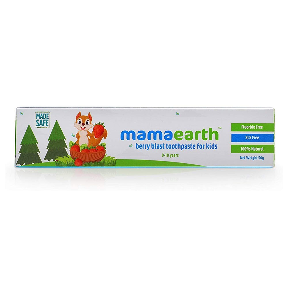 Mamaearth Baby's Natural Berry Blast Toothpaste