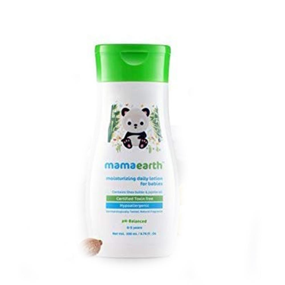 Mamaearth Daily Moisturizing Lotion and Mineral Based Sunscreen