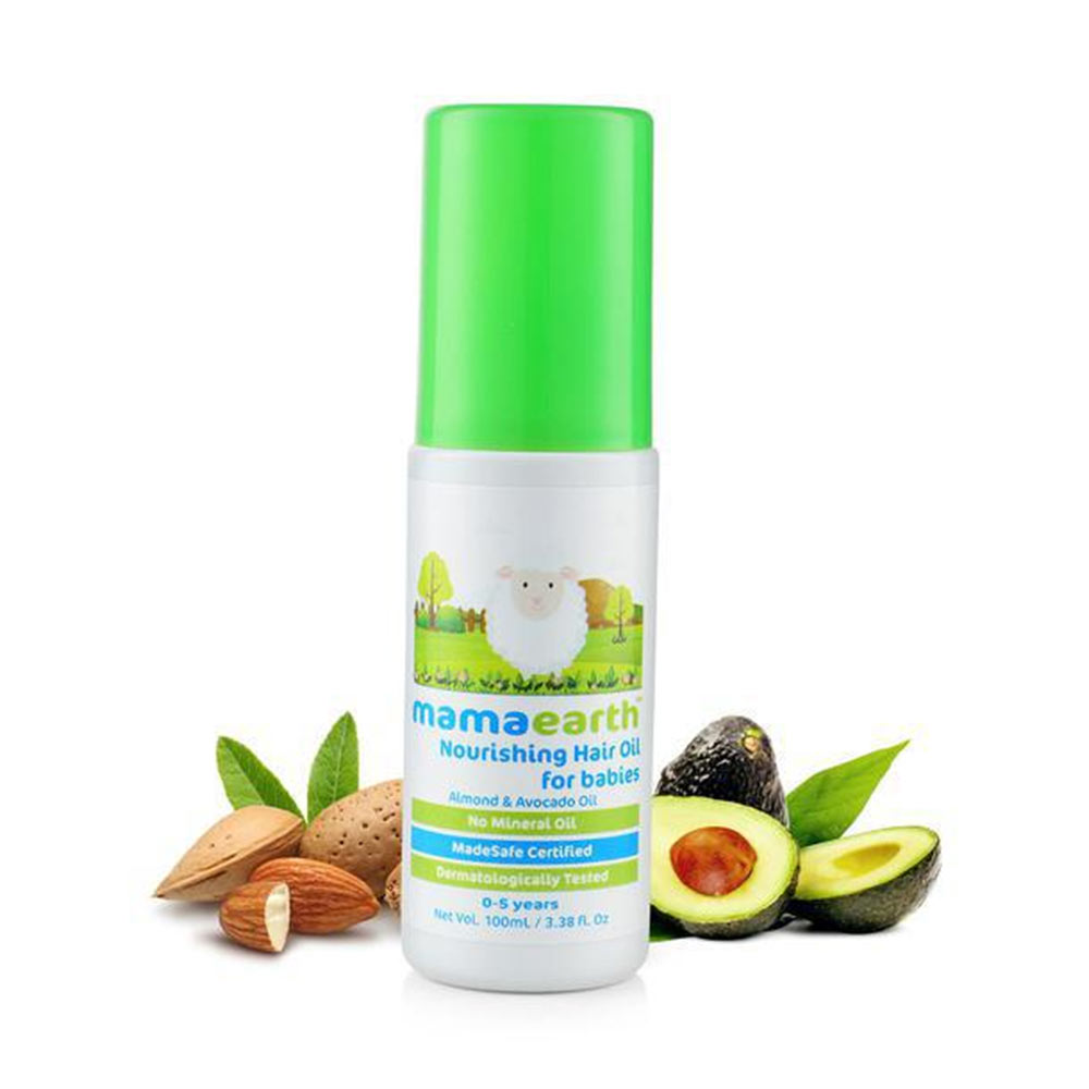 Mamaearth Nourishing Hair & Massage oil.-0
