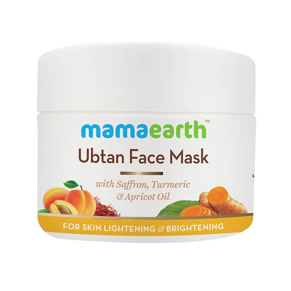 Mamaearth Ubtan Face Mask For Skin Lightening and Brightening