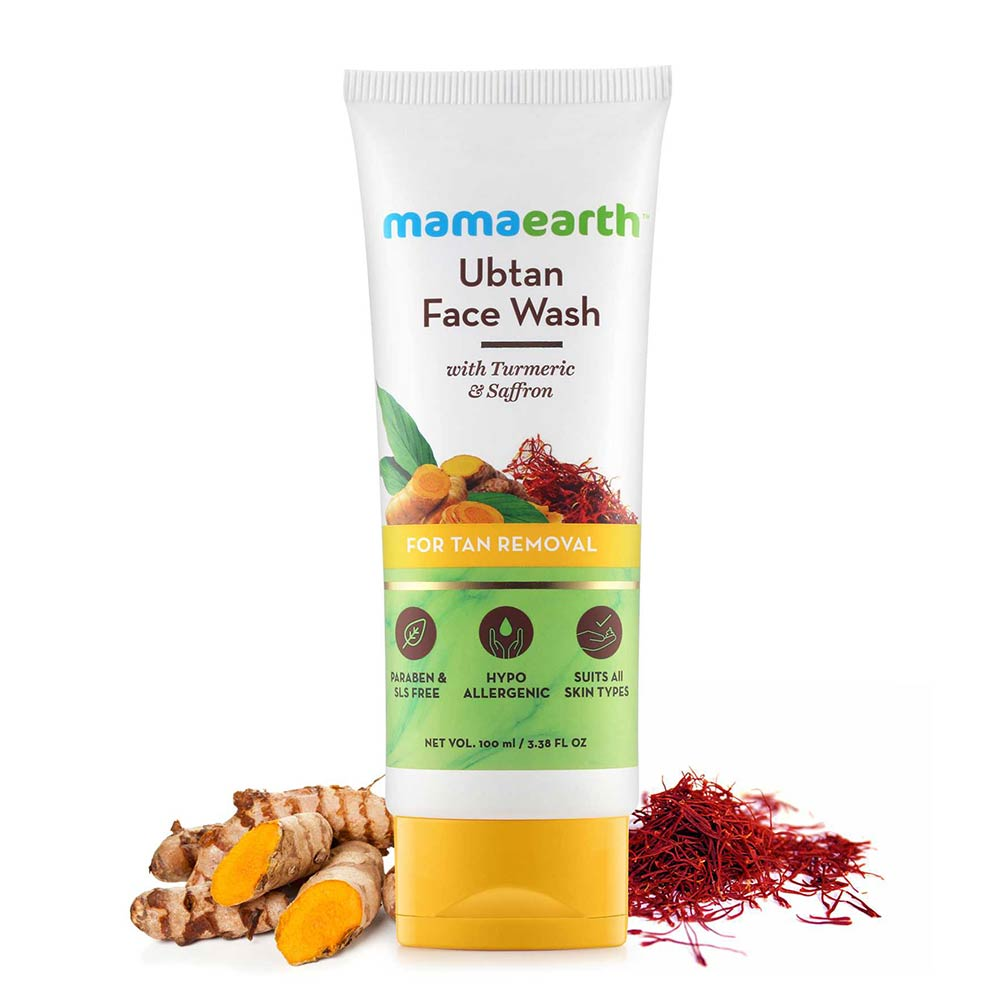 Mamaearth Ubtan Facewash For Tan Removal