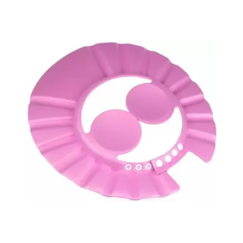 Mantavya Adjustable Safe Soft Bathing baby Shower Cap