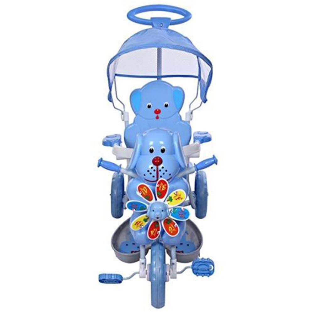 Mee Mee 2 in 1 Baby Tricycle with Rocking Function with Canopy