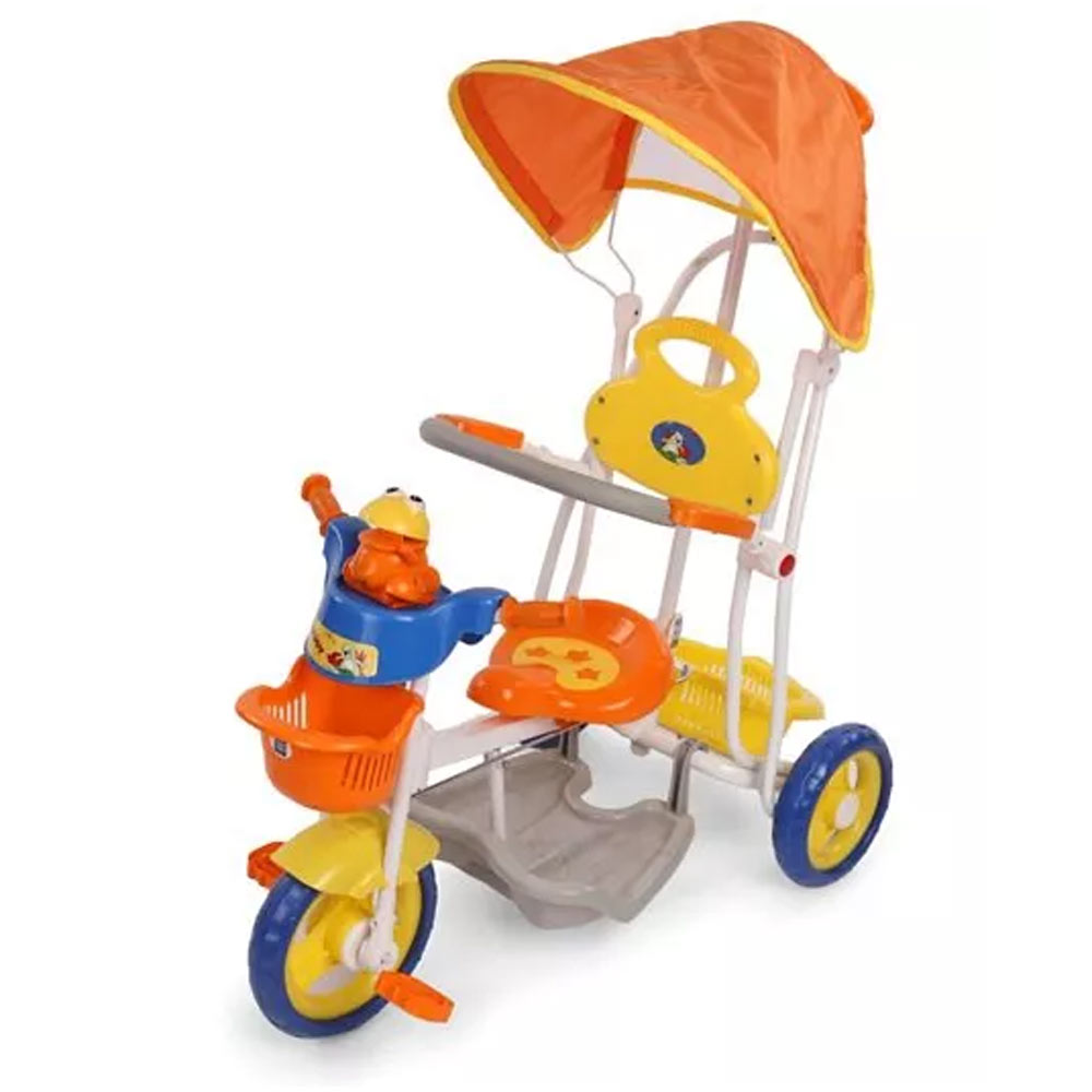 Mee Mee Baby Tricycle with Rocker Function (2 in 1) and Easy-to-Push Handle