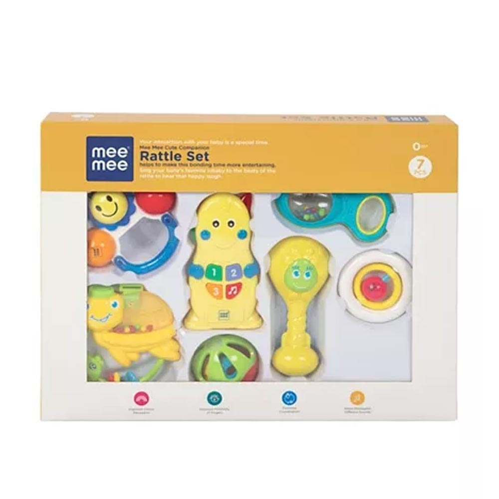 Mee Mee Joyful Musical Rattle