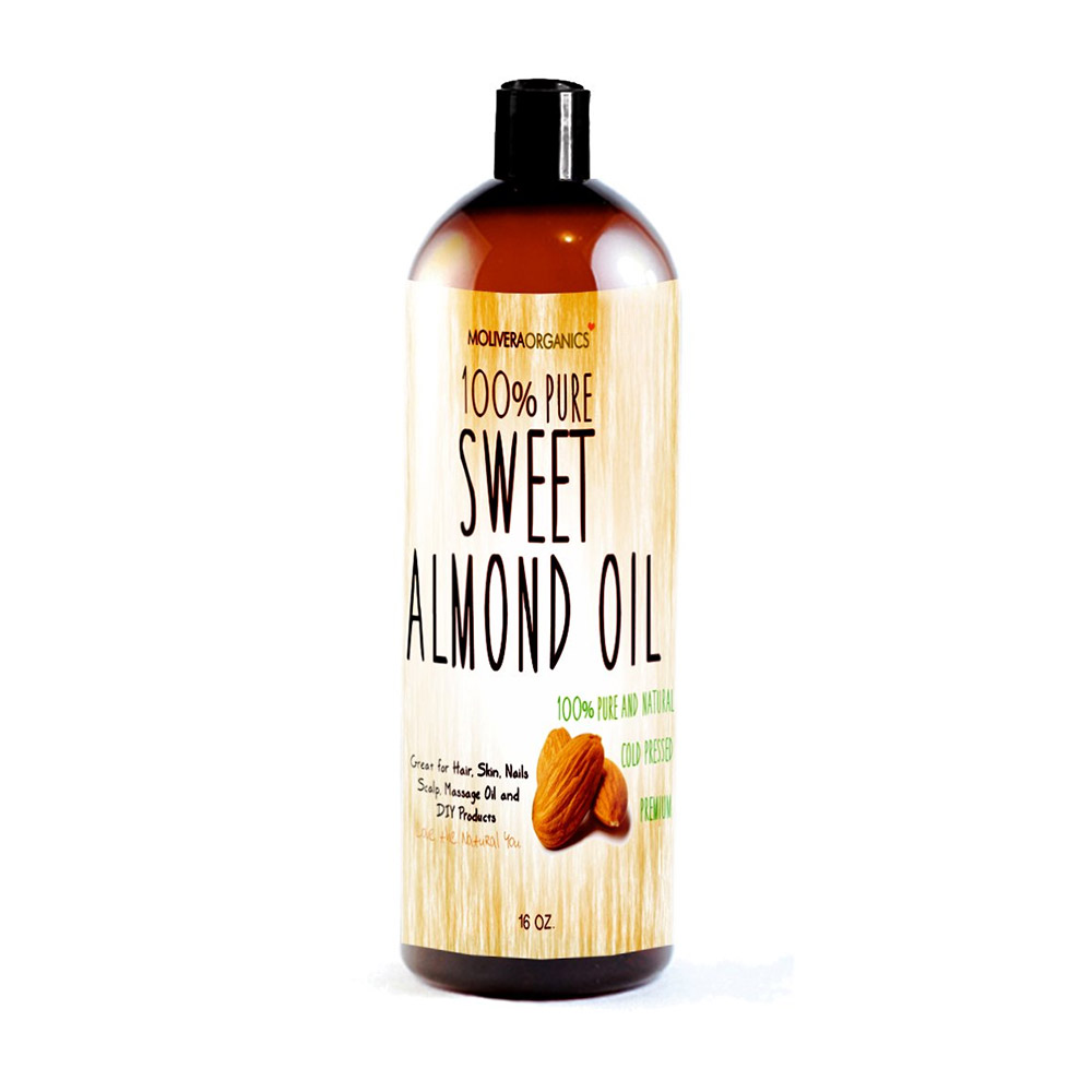 Molivera Organics Sweet Almond Oil-0