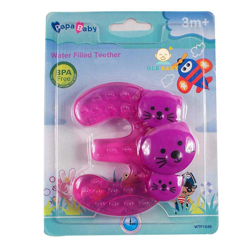 Mummamia Baby Numbers Shaped Water Filled Soothing Teethers