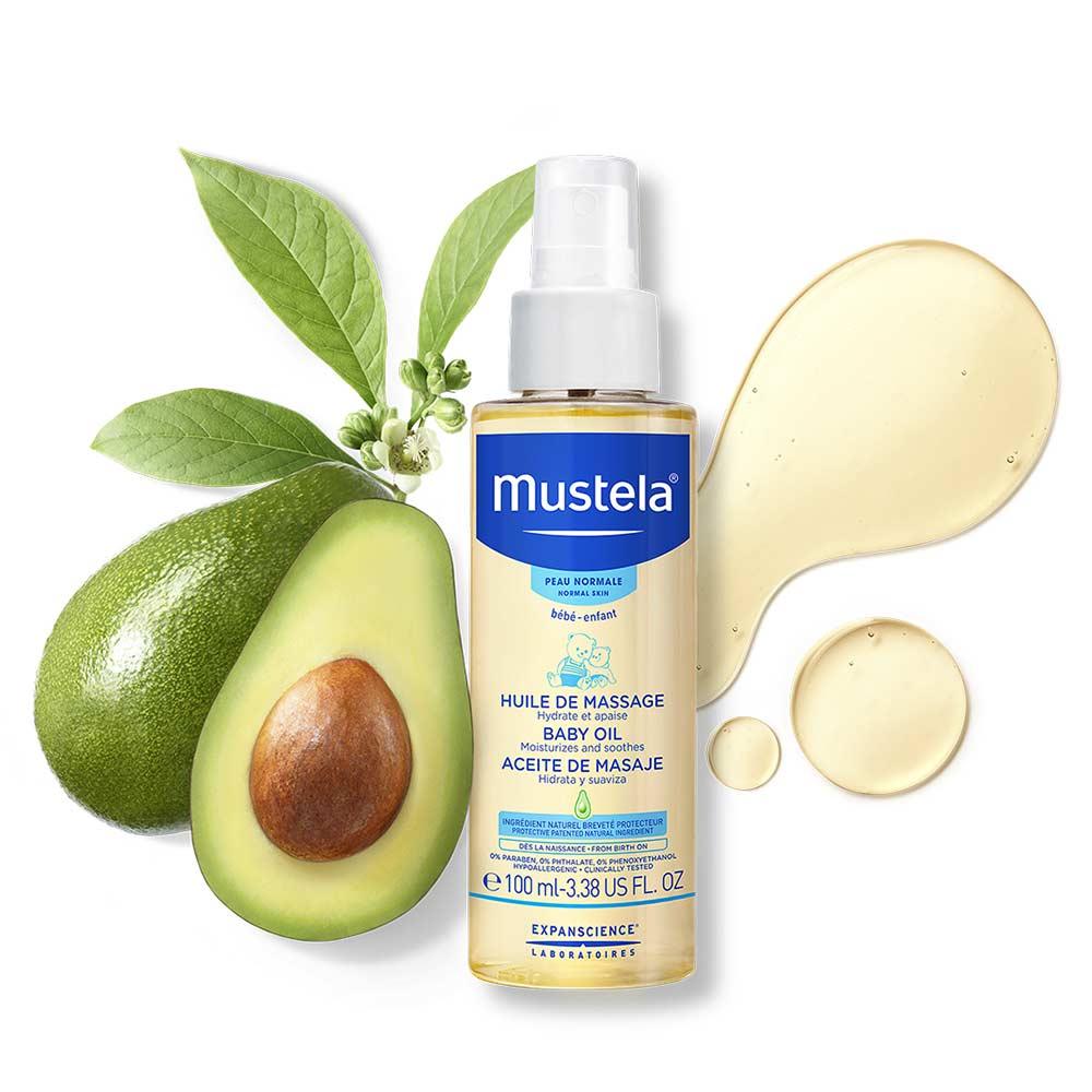 Mustela Baby Oil-2