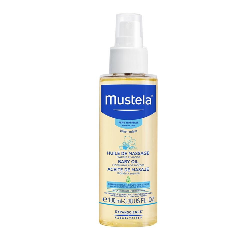 Mustela Baby Oil-3