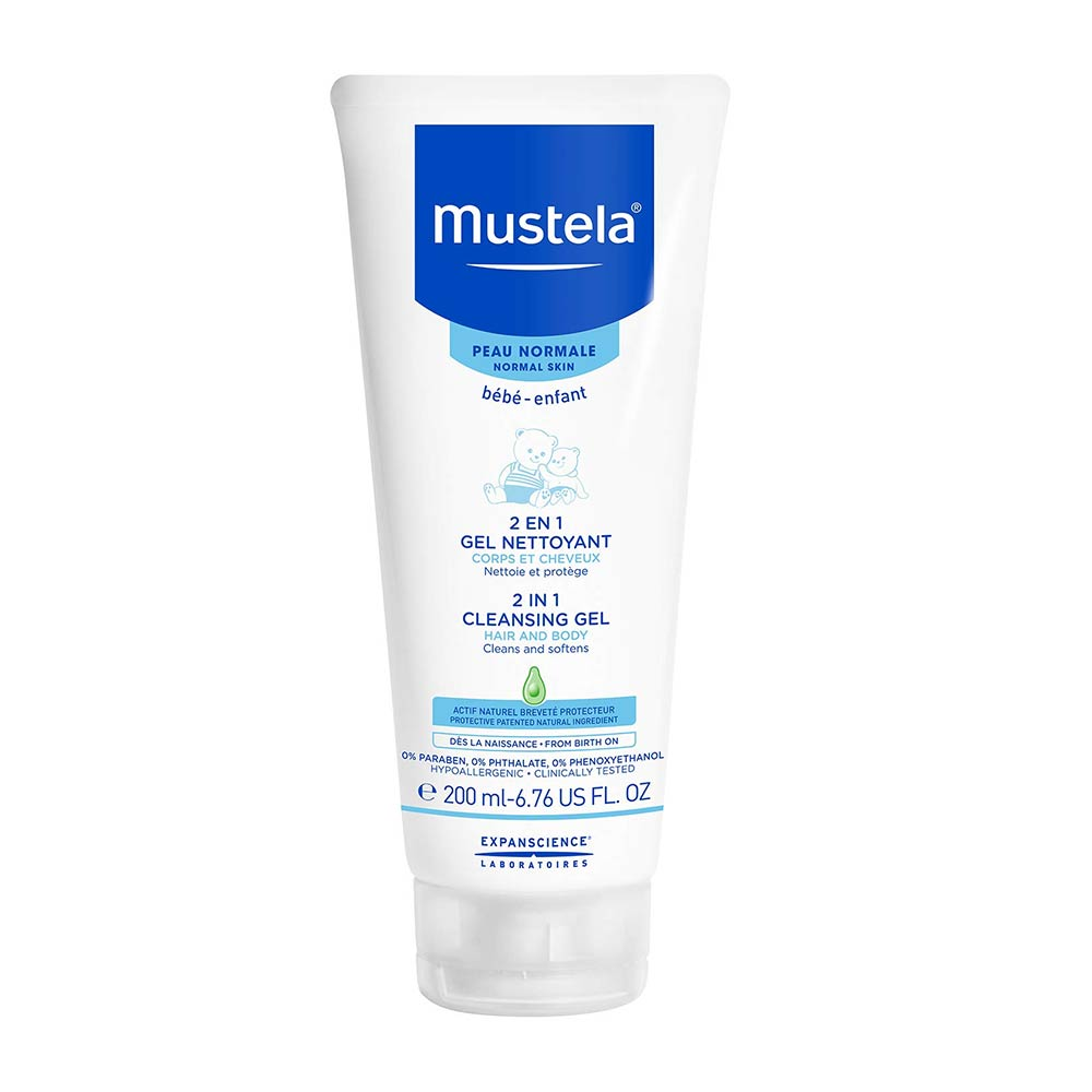 Mustela Hair and Body Wash White