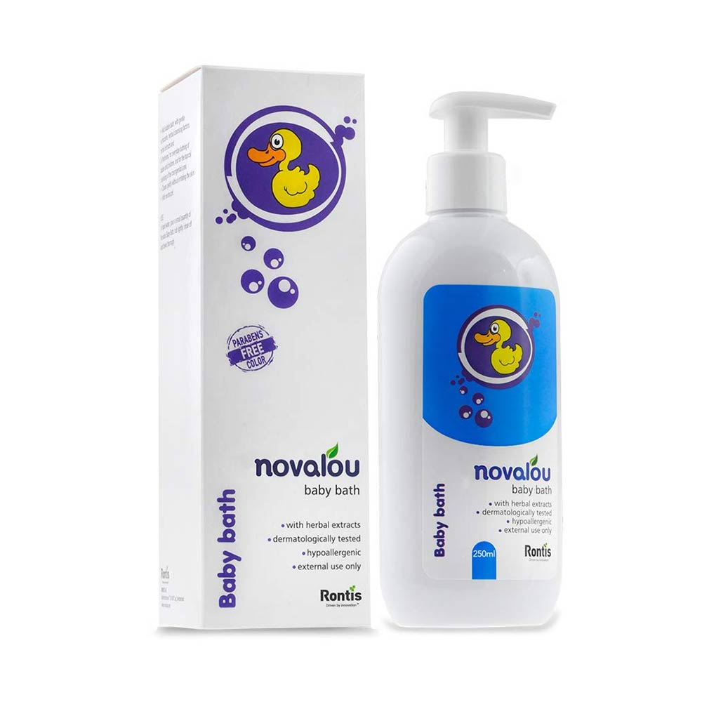 Novalou Infants Body Wash with Natural Herbal Extracts of Calendula & Chamomile