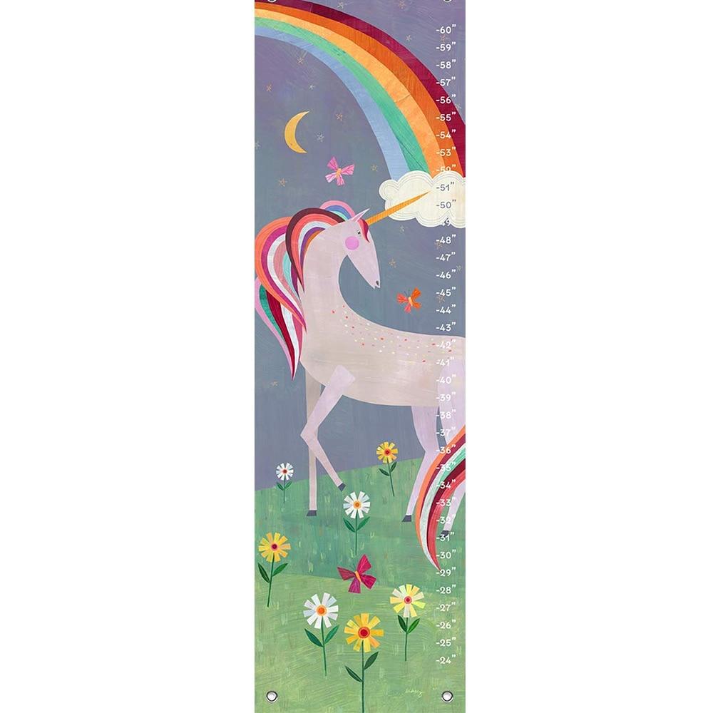 Oopsy Daisy NB43619 Fairytale Unicorn Growth Charts