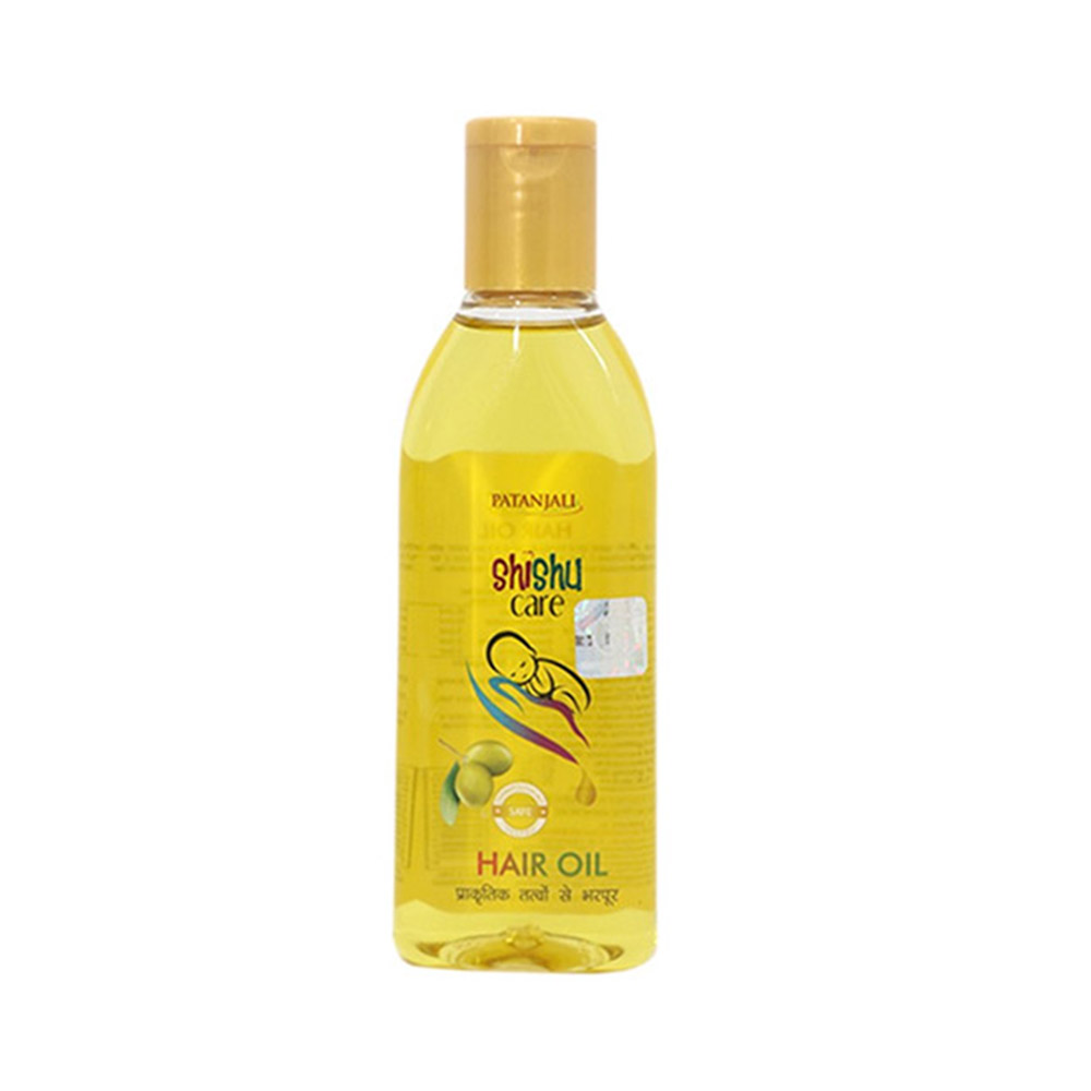 Patanjali Shishu Care Baby Hair Oil-0