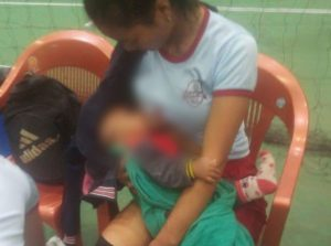 Picture Of Mizoram Volleyball Player Breastfeeding During Halftime Goes Viral – Wins Hearts!