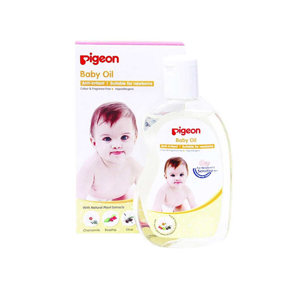 Pigeon Baby Oil-1