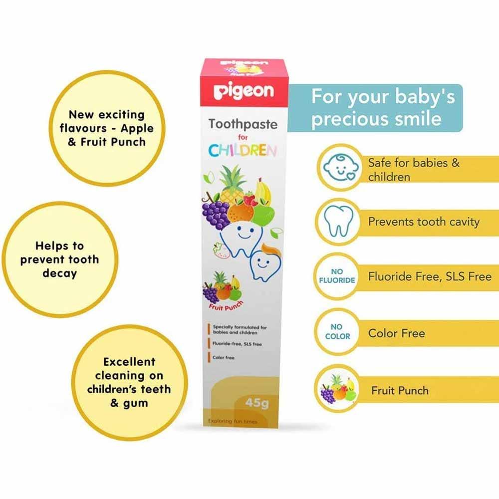Pigeon Children Toothpaste