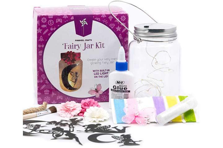 Pinwheel Crafts Fairy Craft Kit For Girls