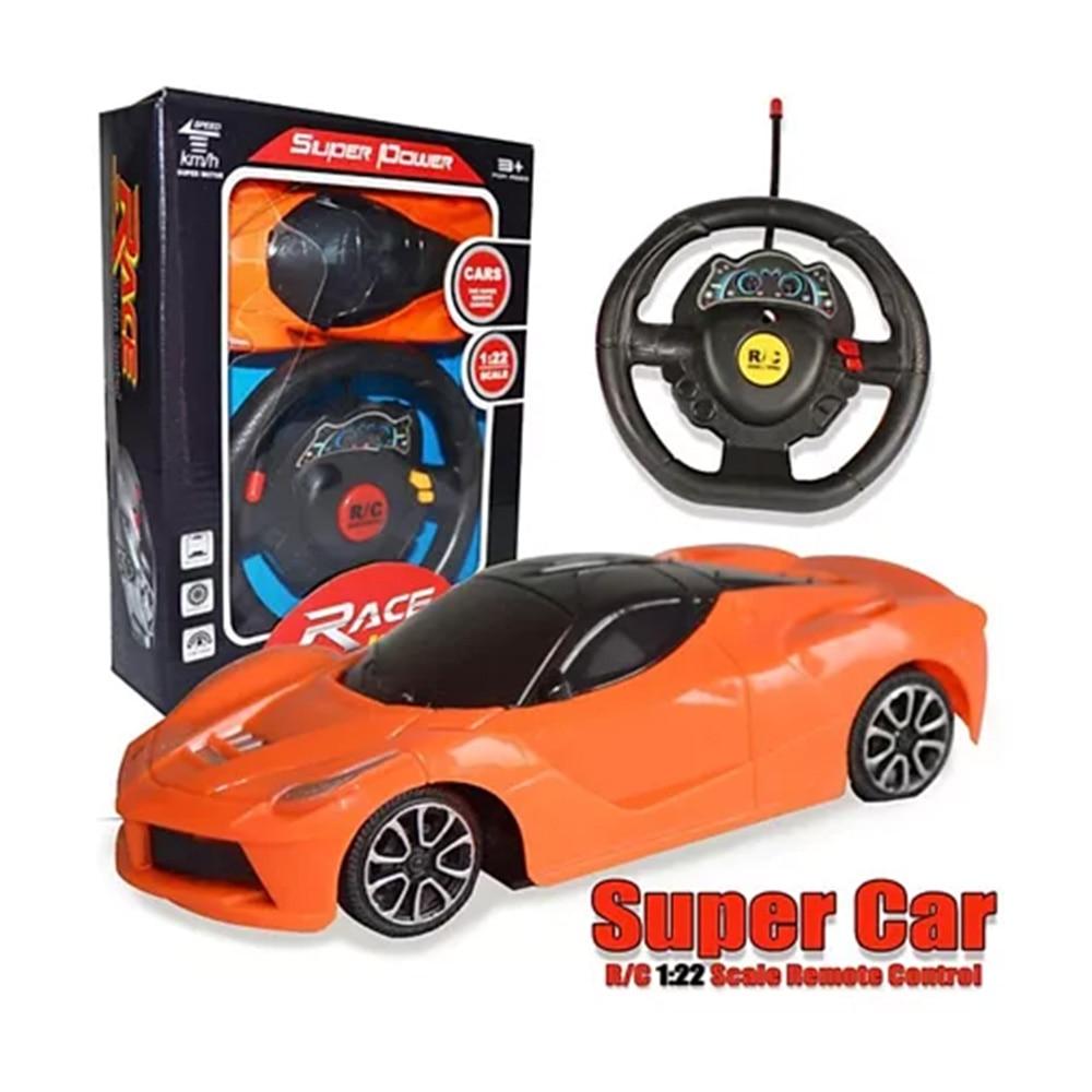Planet of Toys Steering Wheel Remote Control Mini Lamborghini Car