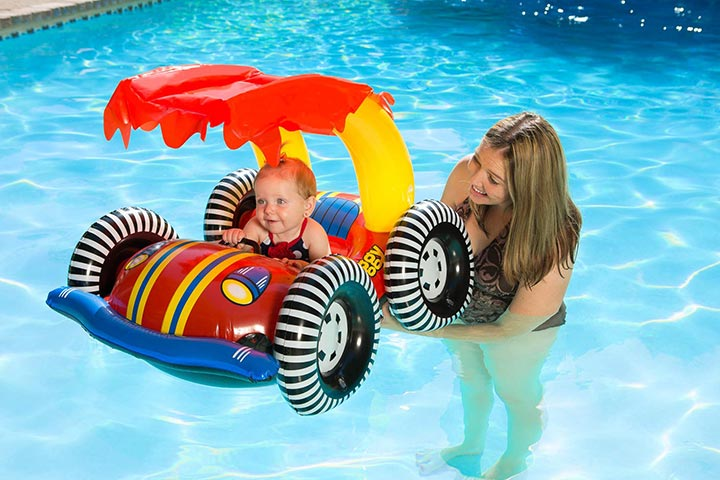 Poolmaster Learn-to-Swim Swimming Pool Float
