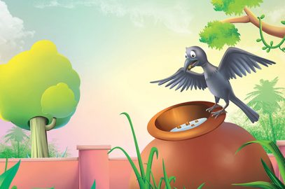 प्यासे कौवे की कहानी | Pyasa Kauwa Ki Kahani
