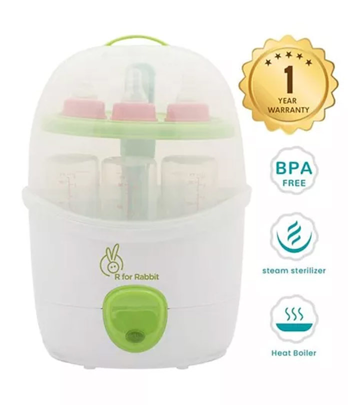 R for Rabbit Automatic Bottle Steam Steriliser