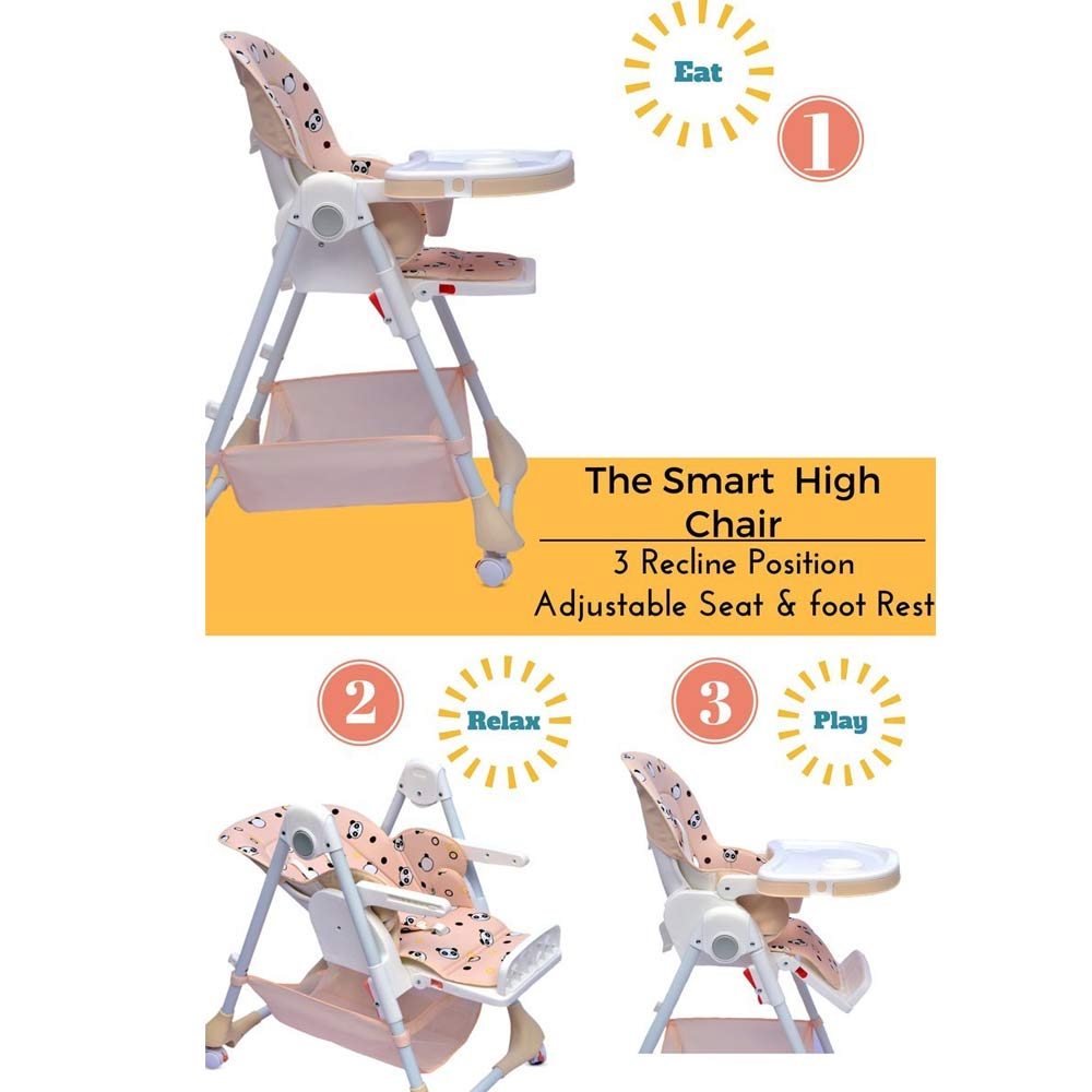 R for Rabbit Marshmallow The Smart High Chair