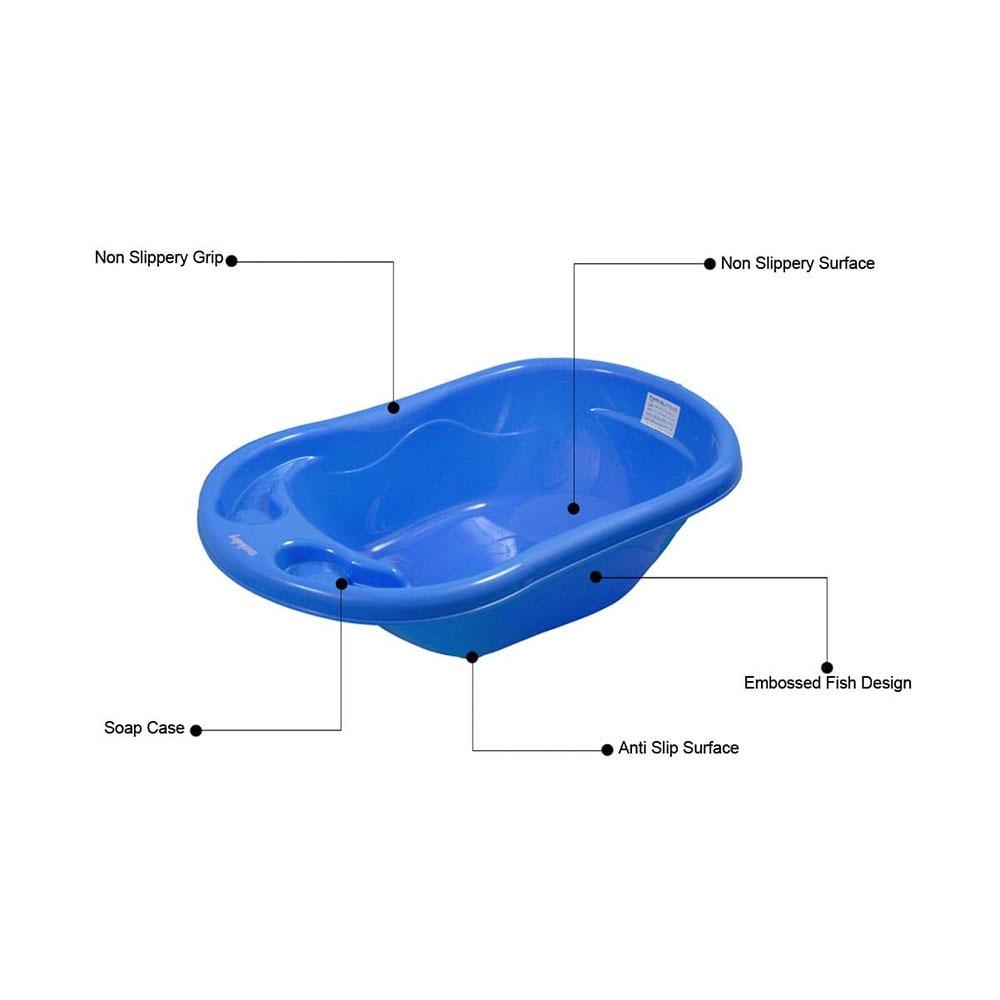 Sunbaby Baby Anti Slip Big Plastic Bathtub