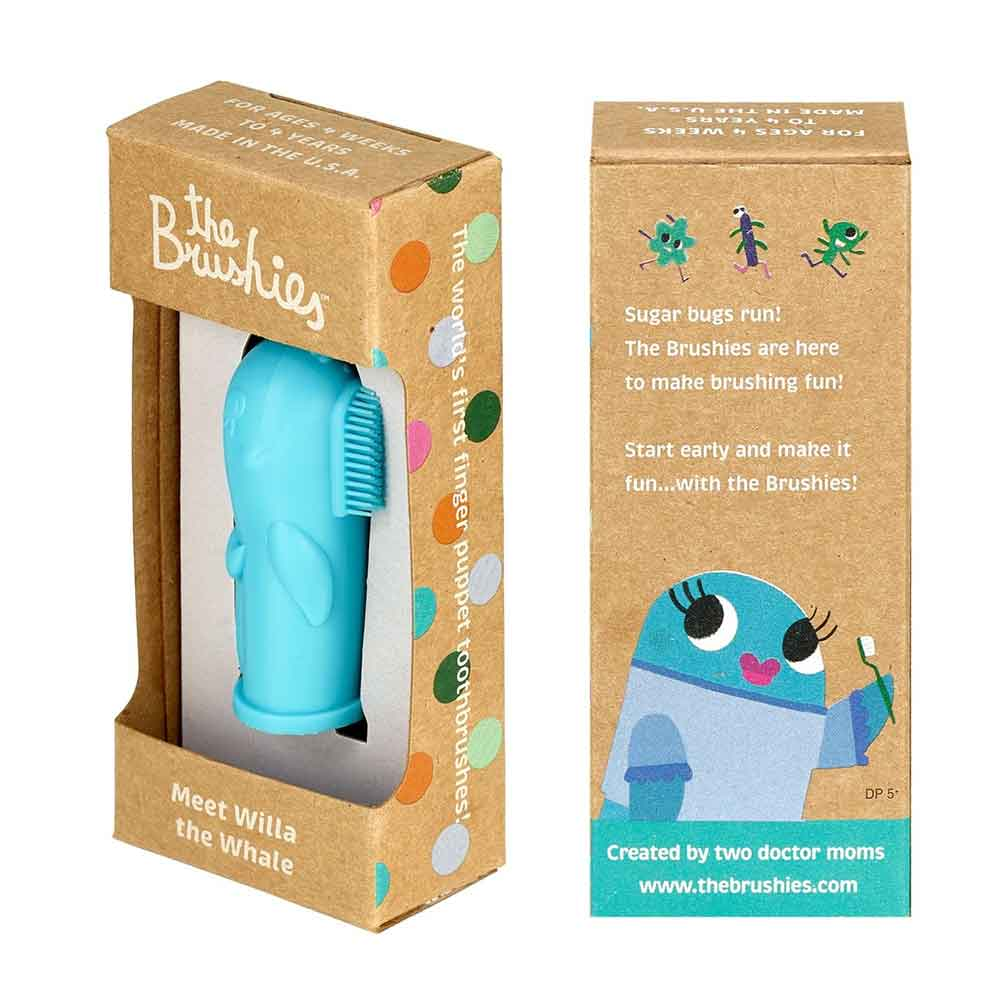 The Brushies Baby and Toddler Toothbrush