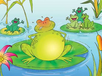 मेंढक और बैल की कहानी | The Frog And The Ox Story In Hindi