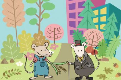 शहरी चूहा और गांव के चूहे की कहानी   The Town Mouse And The Country Mouse Story In Hindi