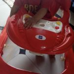 Mee Mee Simple Steps Baby Walker-Simple and attractive-By sunitarani