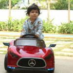Babyhug Battery Operated Ride On With Remote Control & Safety Harness-My baby loves it-By renujain