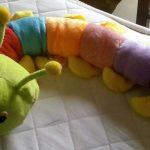 Ultra Caterpillar Soft Toy-Colorful pet-By jayasree0806