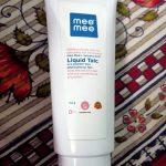Mee Mee Liquid Talc-Mee mees innovation-By sumi2020