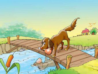 लालची कुत्ते की कहानी | Greedy Dog Story In Hindi
