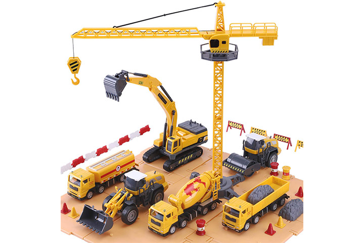 iLearn Construction Site Vehicles