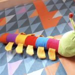 Deals India Colorful Caterpillar And Ball Soft Toy Combo-Perfect combo-By vandana586