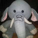Ultra Elephant Soft Toy-Cute Little Elephant-By anshika_garg_rastogi