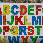 Little Genius - Wooden English Alphabet Uppercase With Knob-Play and learn-By sreenithi_sajith