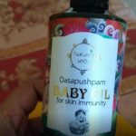 Nature's Veda Dasapushpam Baby Oil-Super massage oil for babies-By asmaar