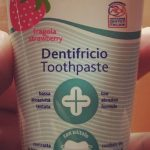 Chicco Toothpaste Strawberry-Toothpaste with no fluoride-By diya_sanesh
